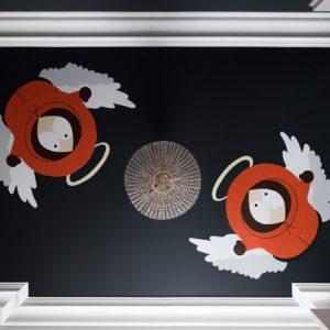 Дизайн-дебаты: Когда стоит сделать потолок цветным