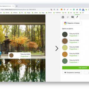 Алгоритм: Как перенести в интерьер сочетания цветов с фото