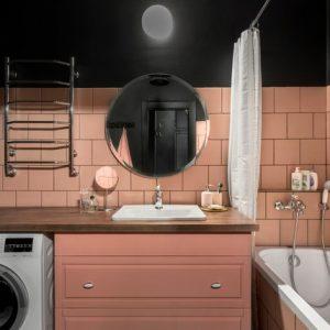 Цвет: Дизайн типового санузла — подбираем оттенок