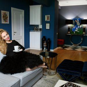 В гостях: Квартира, как из сказки Льюиса Кэрролла