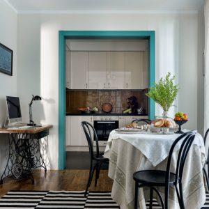 Квартира с цветными дверями в Одинцове